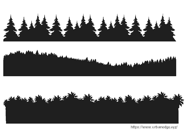 Forest Backgrounds free cad blocks download - 3 Dwg Models