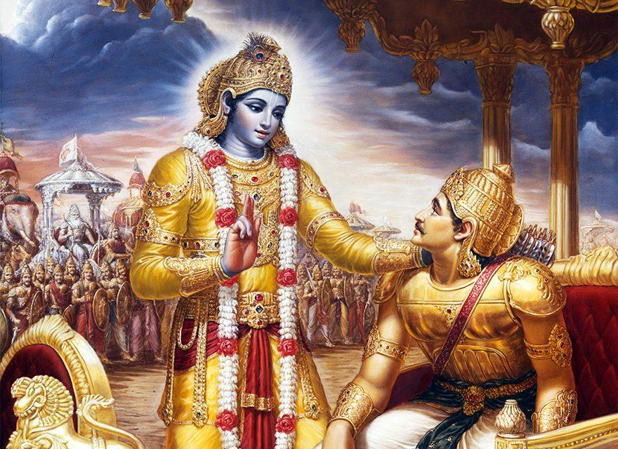 दुनिया को प्रोत्साहित करने वाला पहला दिव्य ग्रन्थ : श्रीमद्भगवद्गीता