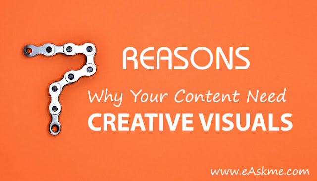 7 Reasons Why Your Content Need Creative Visuals: eAskme