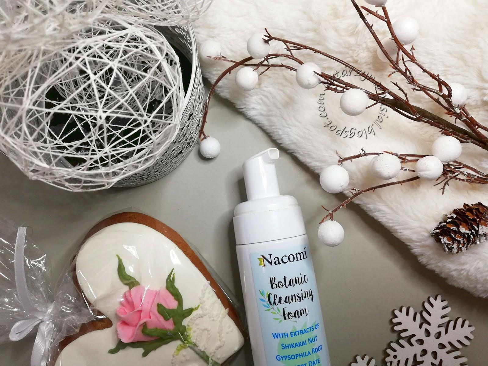 Pianka do mycia twarzy Nacomi Botanic Cleansing Foam