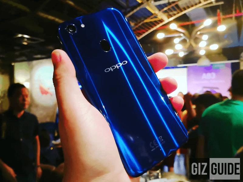 OPPO F5 Dazzling Blue Limited Edition revealed!