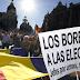Miles de personas se manifiestan en España por la Tercera República