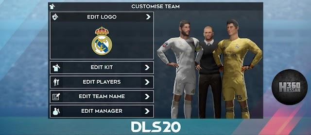 Real Madrid Kits - DLS20