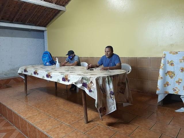 Elesbão Veloso: Marcone Alves, o Billy e alunos da Escolinha MA se reúne com secretário de esporte Geny Broca.