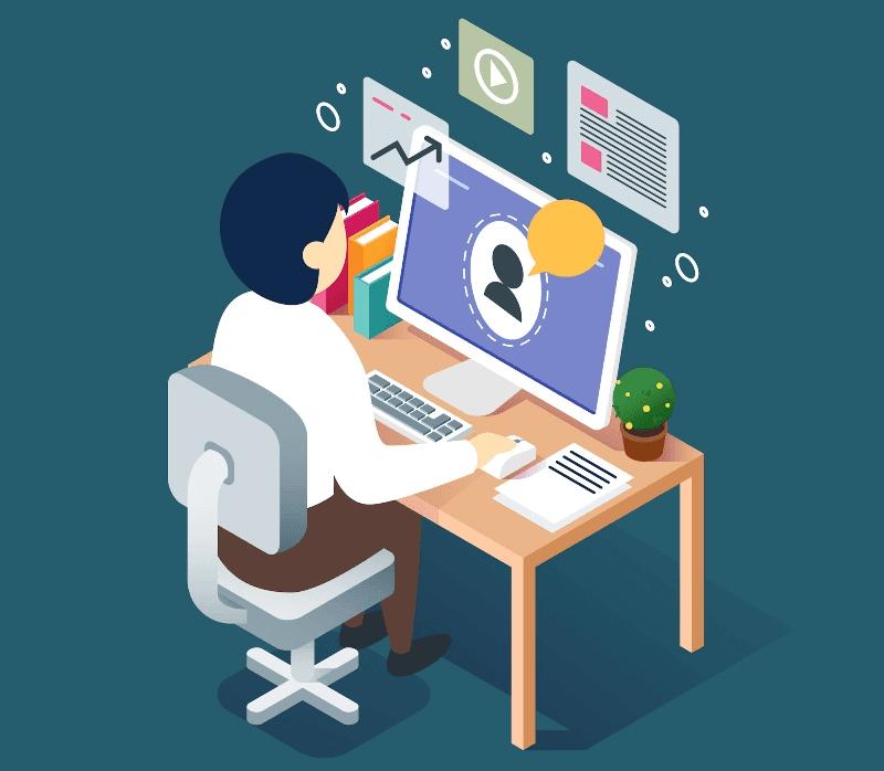 computadora de escritorio desktop