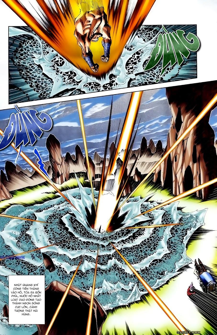 Cơ Phát Khai Chu Bản chapter 110 trang 4