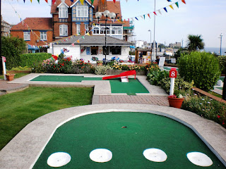 The Lillyputt Minigolf course in Broadstairs, Kent