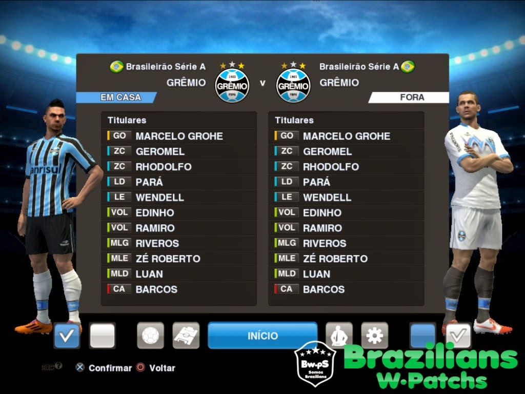 novo uniforme do gremio para pes 2013