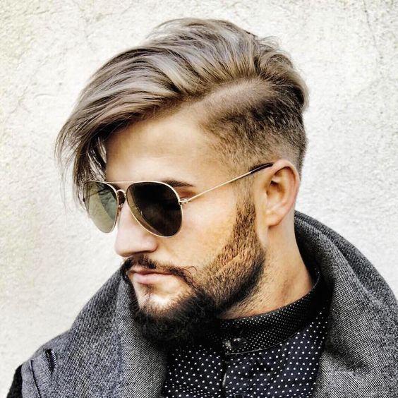 franja masculina corte masculino