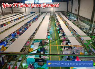 Lowongan Kerja PT Gaha Green Garment Terbaru 2020