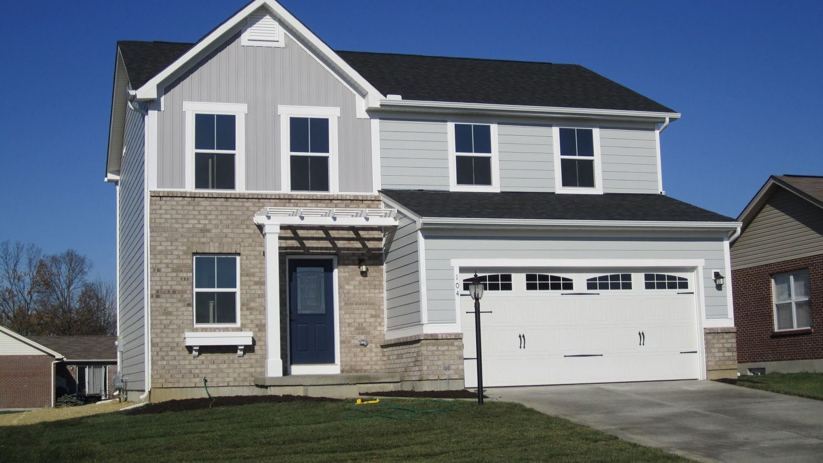 Building Our Home Pictures Of Finished Sienna Elevation L