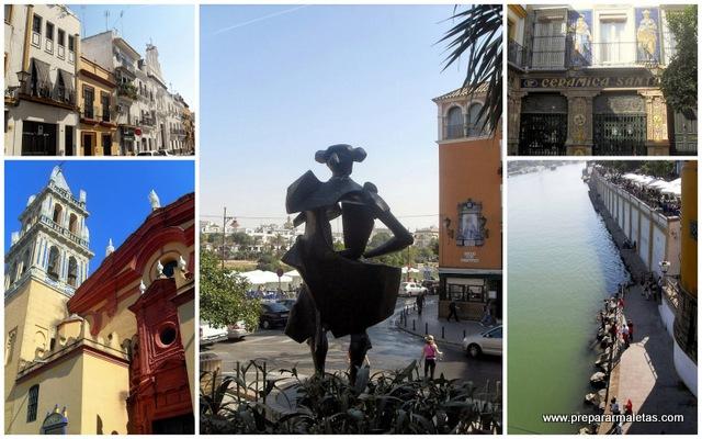 Visitar el barrio de Triana en Sevilla