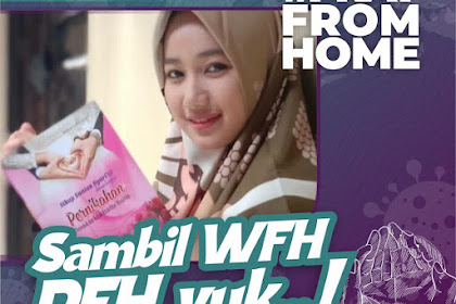 TWIBBON SAMBIL WORK FROM HOME (WFH), PRAY FROM HOME (PFH)