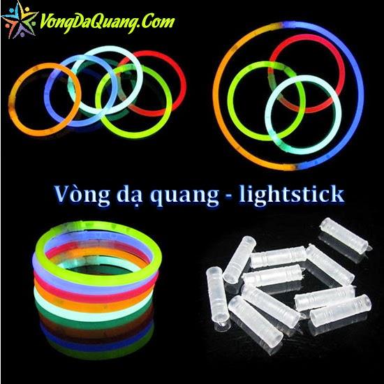 vòng dạ quang phát sáng đeo tay lightstick
