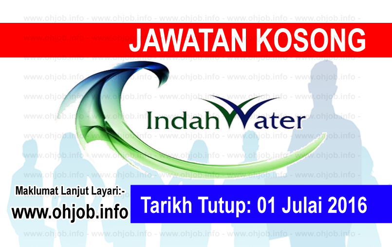 Jawatan Kerja Kosong Indah Water Konsortium (IWK) logo www.ohjob.info julai 2016