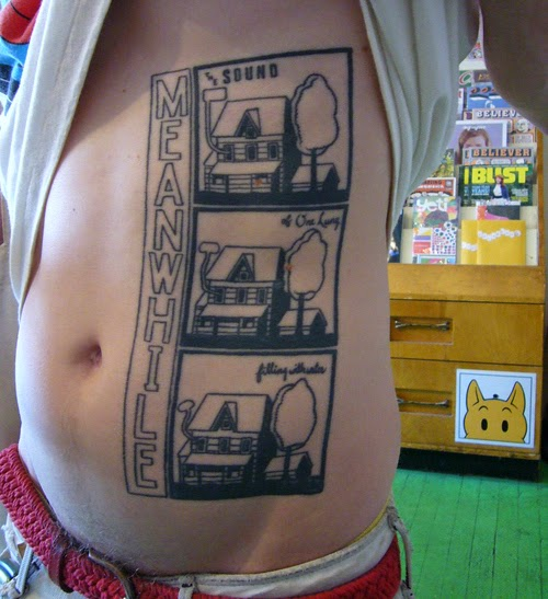 Tatuaje comic alternativo