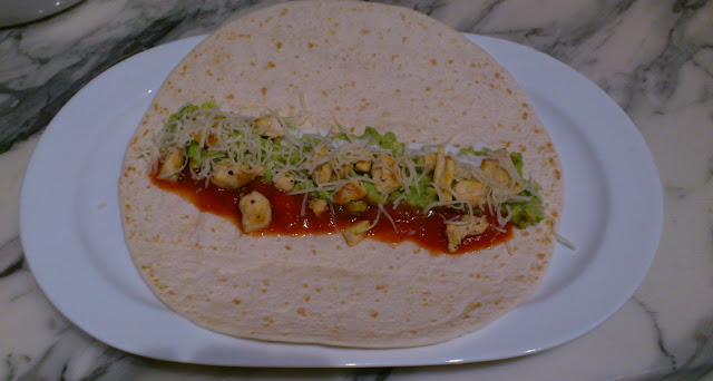 Wrap à la mexicaine