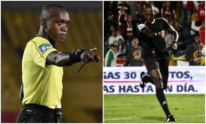 Hinestroza, el árbitro del choque de este sábado entre DEPORTES TOLIMA y Cúcuta Deportivo