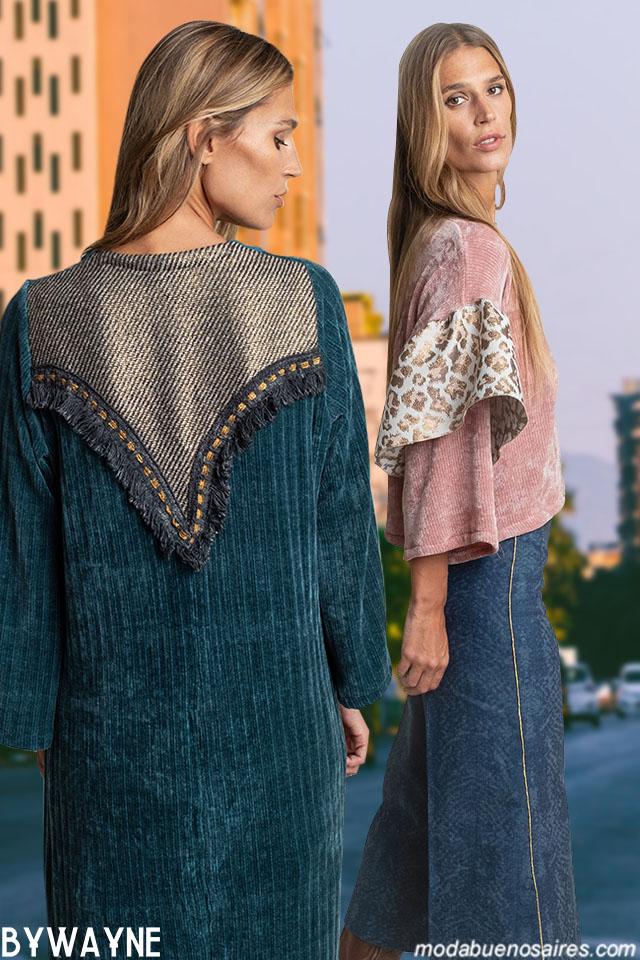 Ropa de mujer moda invierno 2019. MODA CON ESTILO CASUAL CHIC: LOOKS URBANOS Y NOCHE EN EL INVIERNO 2019 DE SILVINA LEDESMA.