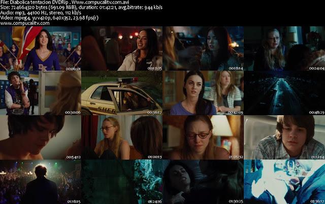 Diabólica Tentación DVDRip Español Latino Película Comedia