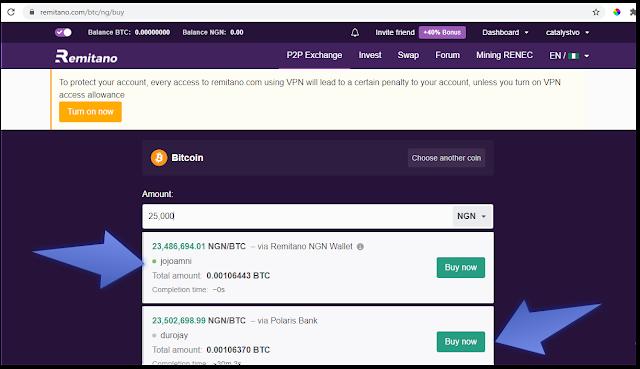How to buy Bitcoin on Remitano