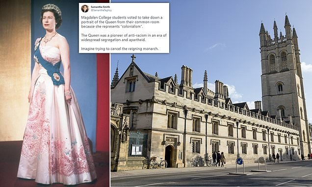 Queen Elizabeth II's portrait pulled from Oxford college, new uproar ensues over 'cancel culture'