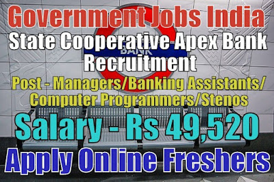 State Cooperative Bank Recruitment 2019