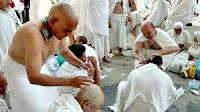 Mencukur Rambut/Tahallul Pertama - Tata Cara Haji
