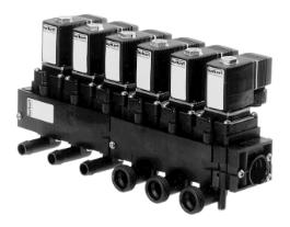 Burkert Type 6227 Servo-assisted 2/2 Way Modular Water Valve System