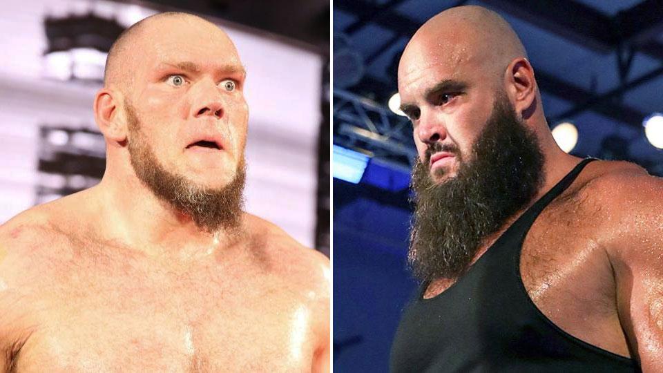 WWE não teve intenção de separar Lars Sullivan e Braun Strowman no Draft