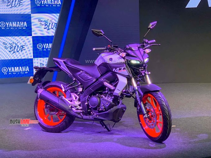 2020 YAMAHA MT15 BS6 IN NEW COLOUR, REAR RADIAL TYRE – DEBUTS