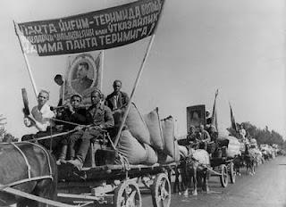 Max Penson Uzbek Red Caravan photograph