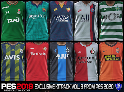 PES 2019 Exclusive Kitpack vol 3 from PES 2020 by Sofyan Andri