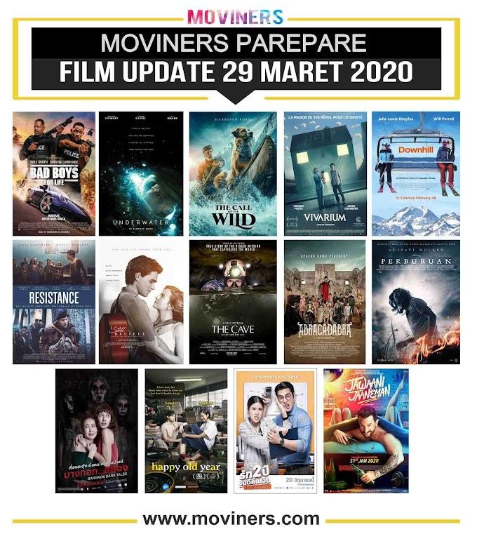 FILM UPDATE 29 MARET 2020