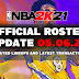 NBA 2K21 OFFICIAL ROSTER UPDATE 05.06.21 LATEST TRANSACTIONS+UPDATED LINEUPS