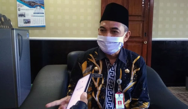 Sekretaris Daerah Lumajang Agus Triyono
