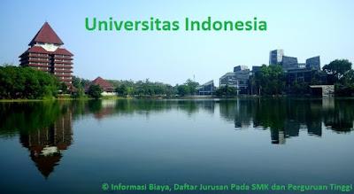 Daftar jurusan pada ui, daftar jurusan kuliah ui, daftar fakultas universitas indonesia, daftar jurusan universitas indonesia terlengkap terbaru