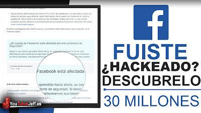 Descubre si tu Cuenta de Facebook fue Hackeada