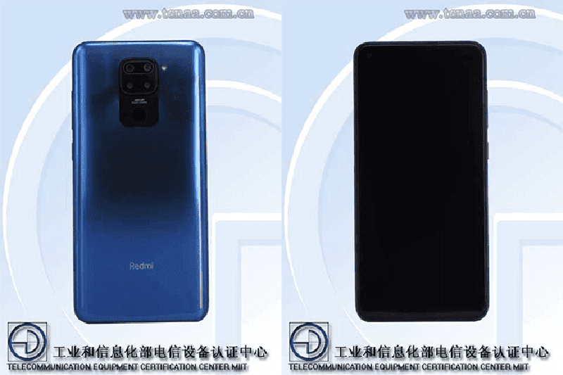 Redmi Note 9 with 4,920mAh battery passes TENAA certification