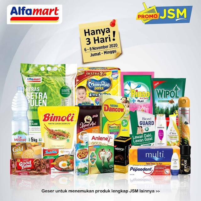 Katalog Promo JSM ALFAMART 6 - 8 November 2020