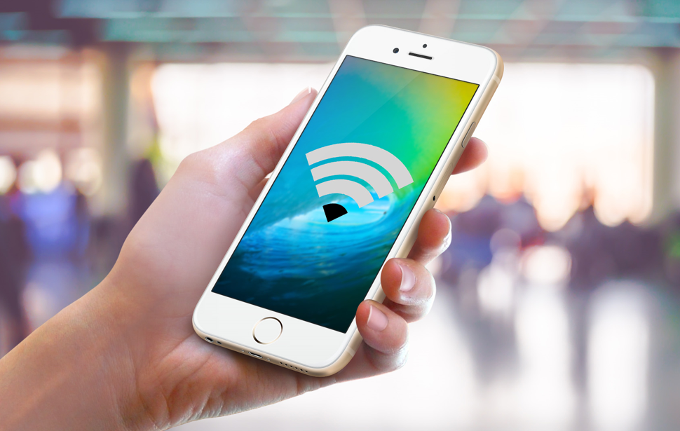 how to put password on wifi on phone