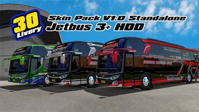 Skin HDD Pack V1 Mod JB3 HDD Adudu Edit Diny