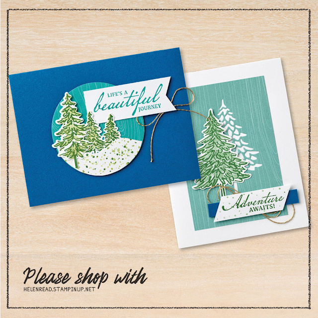 In The Pines Stampin Up