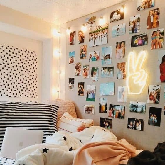 Dekorasi Dinding Kamar Tidur Aesthetic