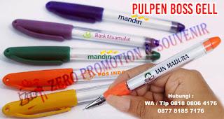 Pulpen Boss Jell, Pen Boss Jell, Pulpen aktif jell