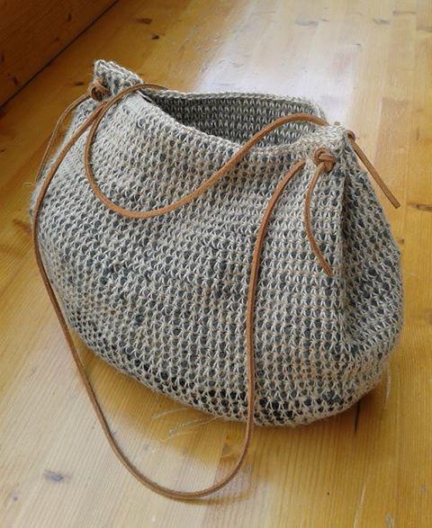 torebka na drutach