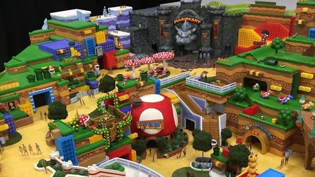 Rumor: imagens vazadas mostram como será o Super Nintendo World, parque temático da Big N