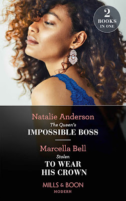 The Queen's Impossible Boss by Natalie Anderson cover Mills & Boon romance