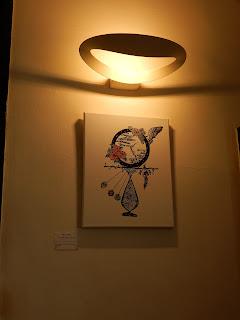 """影織フィレンツェ個展""""Galileo"""" 展示風景"""