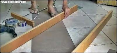 madeira de escada